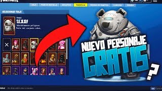 NOVO PERSONAGEM ROBÔ TOTALMENTE LIVRE!!! * CARÁTER SECRETO * Fortnite: Battle Royale