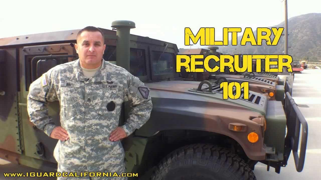 meet with a marine recruiter lies