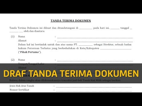 Tanda Terima Dokumen