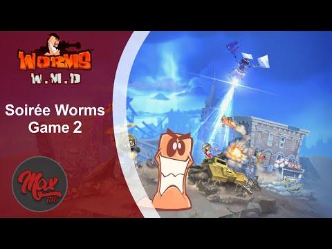 Soirée Worms W.M.D - Game 2 : La Déprime D'AziroxY