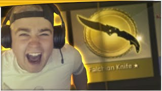 EN KNIV MERE! - AMAZING FALCHION KNIFE UNBOXING - CS:GO