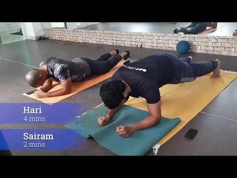 Plank Challenge @ Fitness Forum
