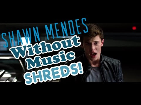 Shawn Mendes  Stitches  Without Music Shreds