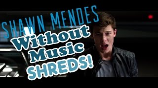 Shawn Mendes - Stitches - Without Music Shreds