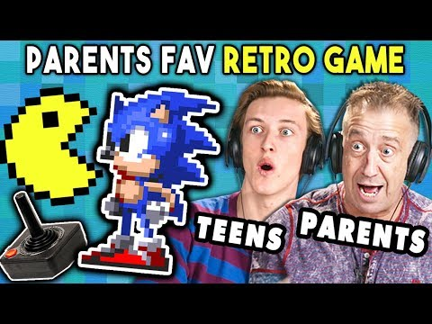 Teens Try To Play Their Parents' Favorite Video Games | REACT