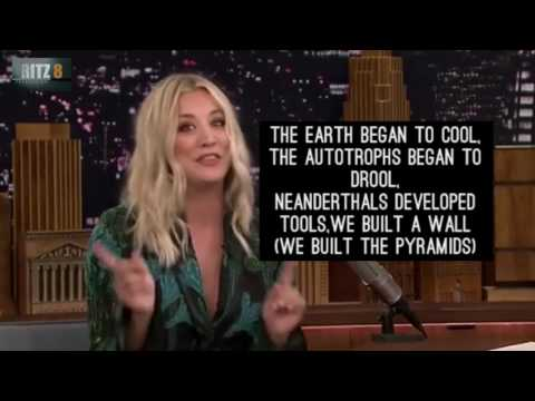 Kaley Cuoco Sings The Big Bang Theory Theme Lyrics