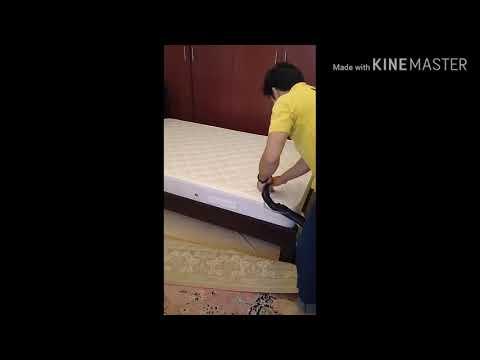 Best Mattress cleaning w/kartcher machine #kartchervacummcleaner #Helpster.ae