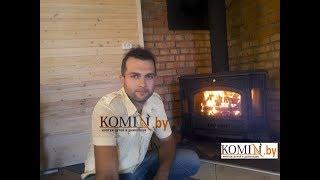 Печь Kratki Koza  K9: полный обзор горения, со всеми плюсами и минусами
