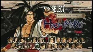 Samurai Shodown SEN character select