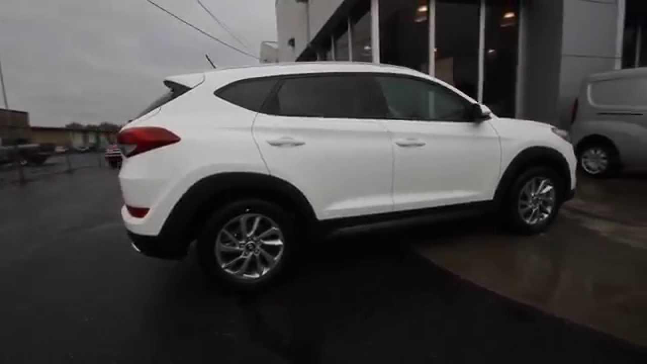 2016 Hyundai Tucson | White GU024526 Skagit County Mt Vernon - YouTube