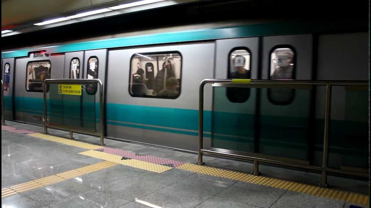 FHD]光州都市鉄道 1号線 トルゴ...