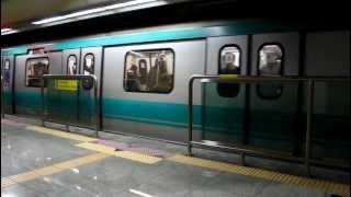 [FHD]光州都市鉄道 1号線 トルゴゲ駅 所台行 発車