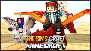 The Sims Craft Ep.44 - Dragão e Pôneis !!  - Minecraft