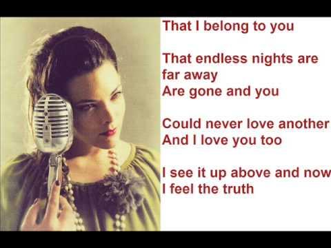 Caro Emerald - I Belong To You (Lyrics Video)