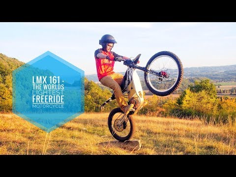 Electric off-roader blurs the line between motorcycle and bicycle