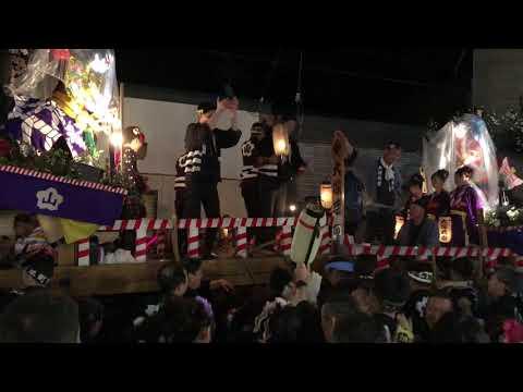 角館のお祭り2018.9.9 桜美町vs大塚