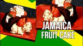 JAMAICA BLACK FRUIT CAKE FOR THANKS GIVING DAY 2018 | Chef Ricardo Cooking