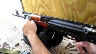 Beautiful Romanian Ak-47 (wasr 10/63) With Custom Wood Furniture [hd]