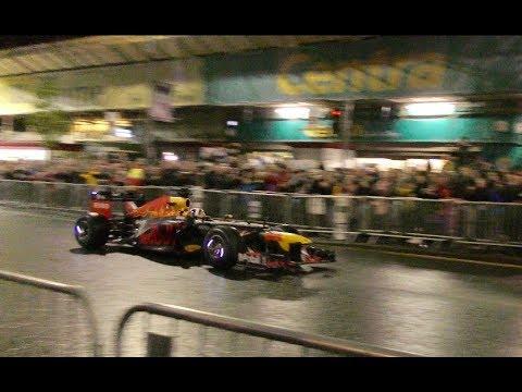 Red Bull F1 show run in Belfast 2018
