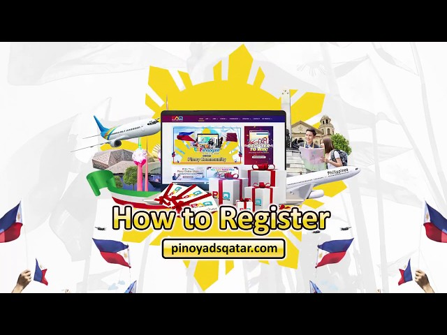 How to register in Pinoy Ads Qatar Website?