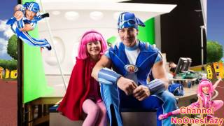 Lazy Town behind the scenes (3 and 4 seasons)