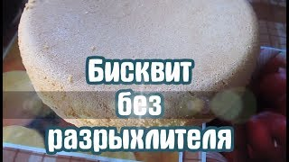 Рецепт бисквита без разрыхлителя