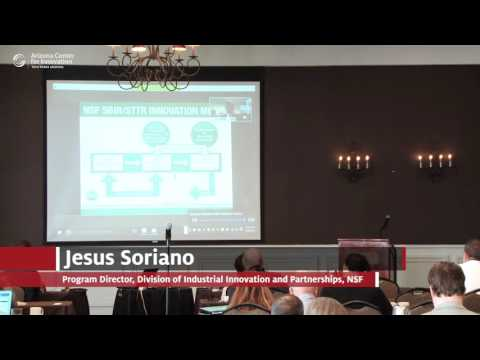 National Science Foundation (NSF): Jesus Soriano, MD, PhD, MBA
