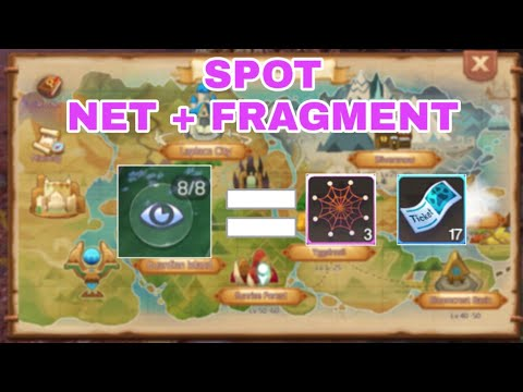 Laplace M | SPOT NET AND FRAGMENT EGG