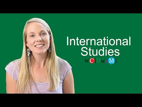 What Can You Do With a Major In - International Studies