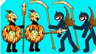 КОСТЯНЫЕ СТИКМЕНЫ ПРОТИВ ЗОМБИ #2   Stick War Legacy zombie  Стик вар легаси
