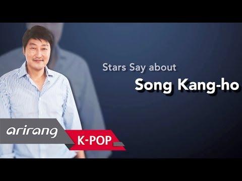 biz Korea Stars Say about  Kangho송강호 who is everyone's role model