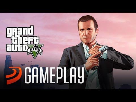 "Gameplay Comentado de ""GTA 5"" - (PS4, Xbox One)"