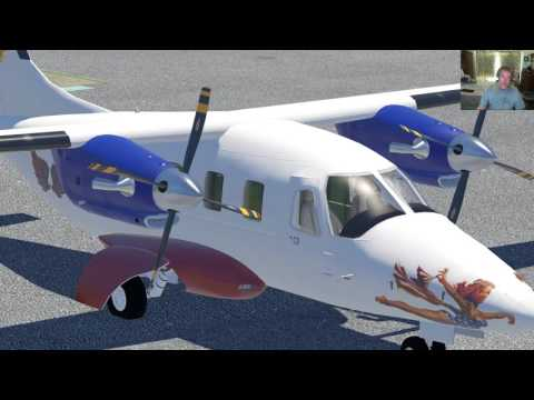 X-Plane Adventures: Evektor EV-55 Sneak peak 1.1 Beta 7 w/Full FLT