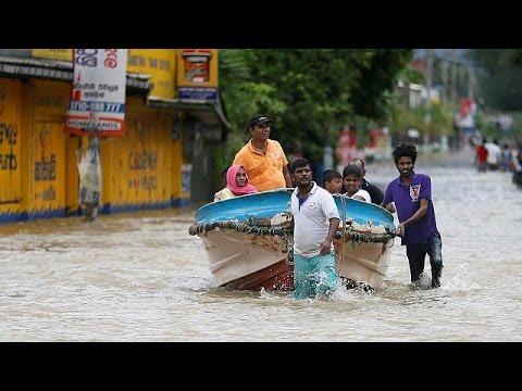 Sri Lanka Unwetter