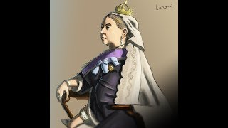Queen Victoria - Speed Drawing