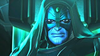 Marvel Ultimate Alliance 3 - Ronan the Accuser Boss Fight & Infinity Stones