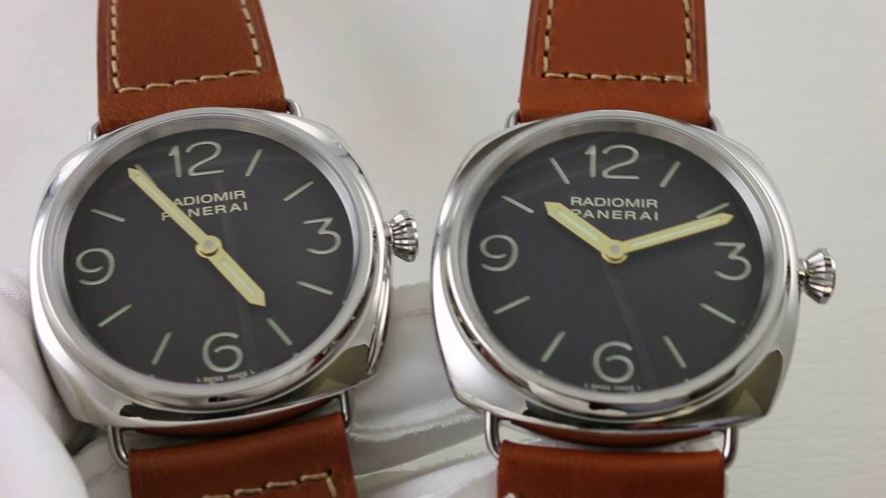 A Tale Of Two Watches Panerai Radiomir 1938 Pam 232 Oor Series Vs