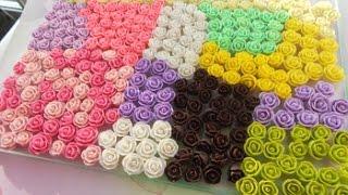 Секреты и советы по лепке роз из полимерной глины!