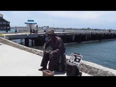 Street Performer at Seaport Village
