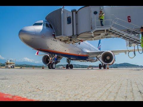Аэрофлот отмечает 20-летний юбилей полетов в Краснодар