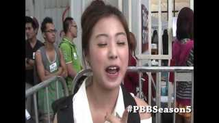 Aspiring Housemate na Korean pumila sa Pinoy Big Brother Season 5 Manila Audition