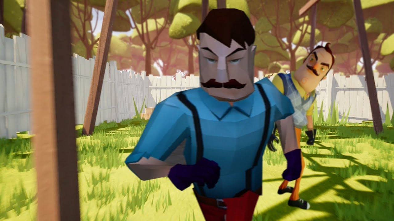 Hello Neighbor With Playstation 1 Graphics Hello
