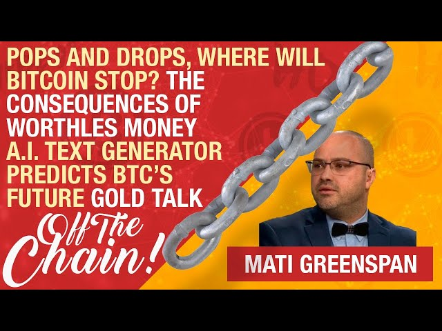 CB Live EP #43 Bitcoin's Massive Pop & Drop, AI Predicts BTC's Future, Gold Physical Delivery At ATH