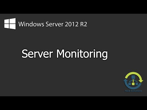 How to monitor server performance and activity on Windows Se