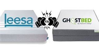 Ghostbed Vs Leesa Mattress Review - Comparison