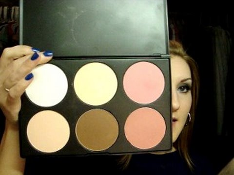 How To Contour Highlight Apply Blush