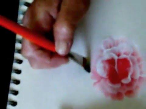 Peinture acrylique 2 youtube for Peinture acrylique