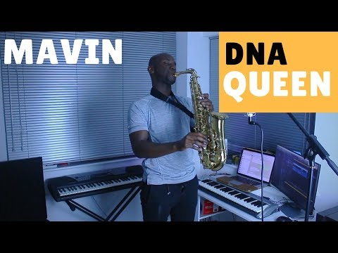 DNA Queen Instrumental Remix [BEST Saxophone Instrumental Cover] by OB 🎷