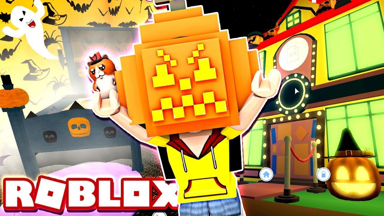 Decorating My Halloween Room!! , Roblox MeepCity/Meep City Halloween Update  , DOLLASTIC PLAYS!