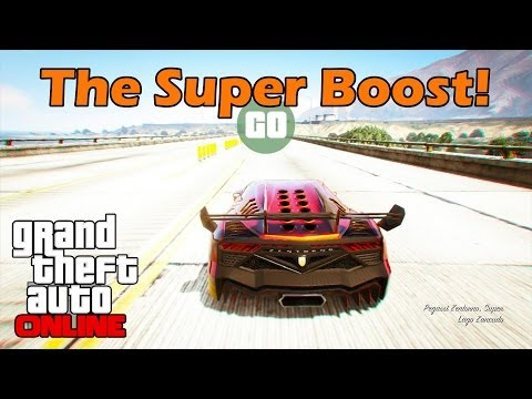 The Super Boost! Dominate Every Race Start - GTA Online